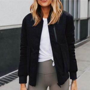 Lululemon Wool Bomber  Waterproof